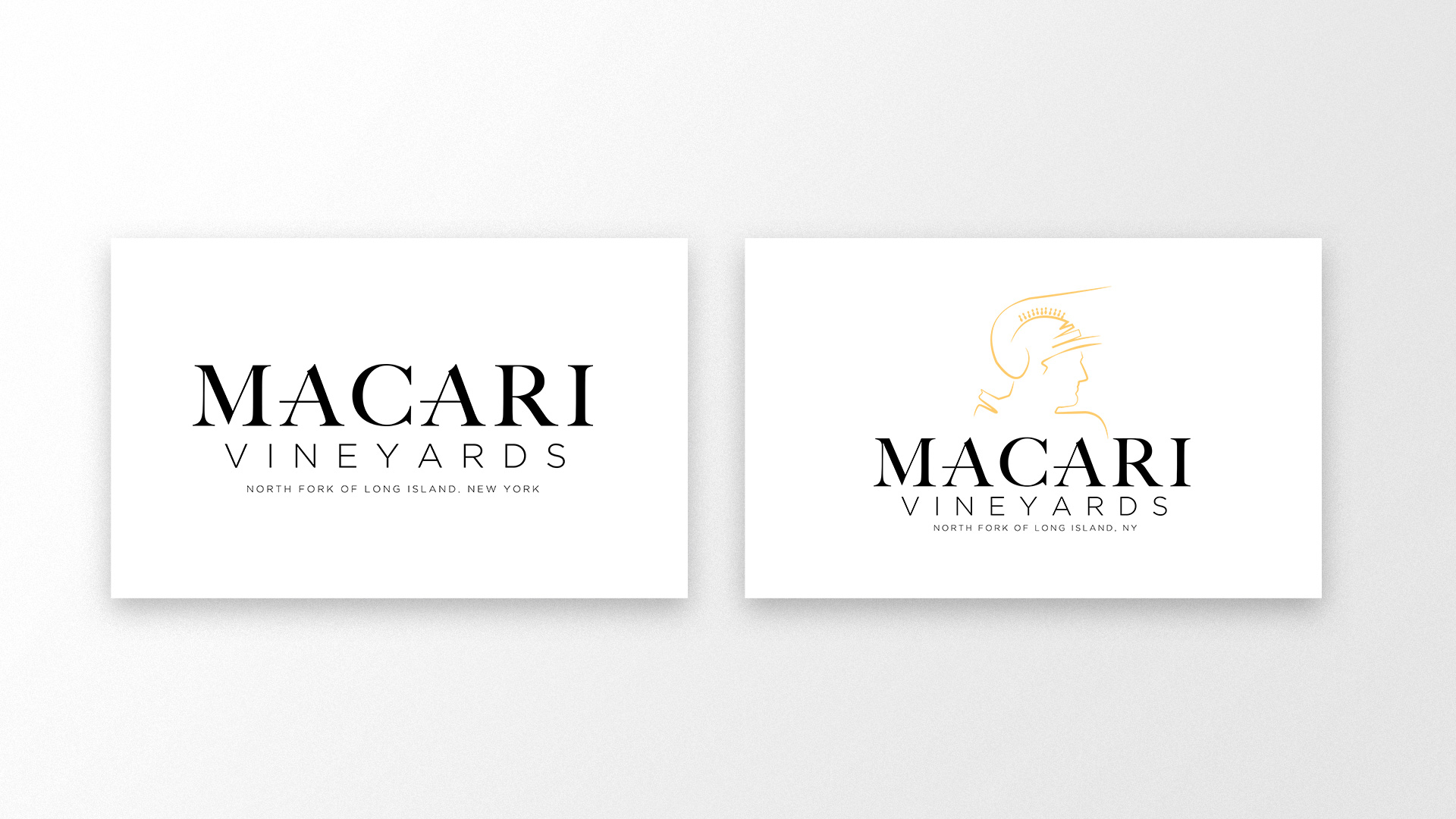 Macari Vineyards - Logos