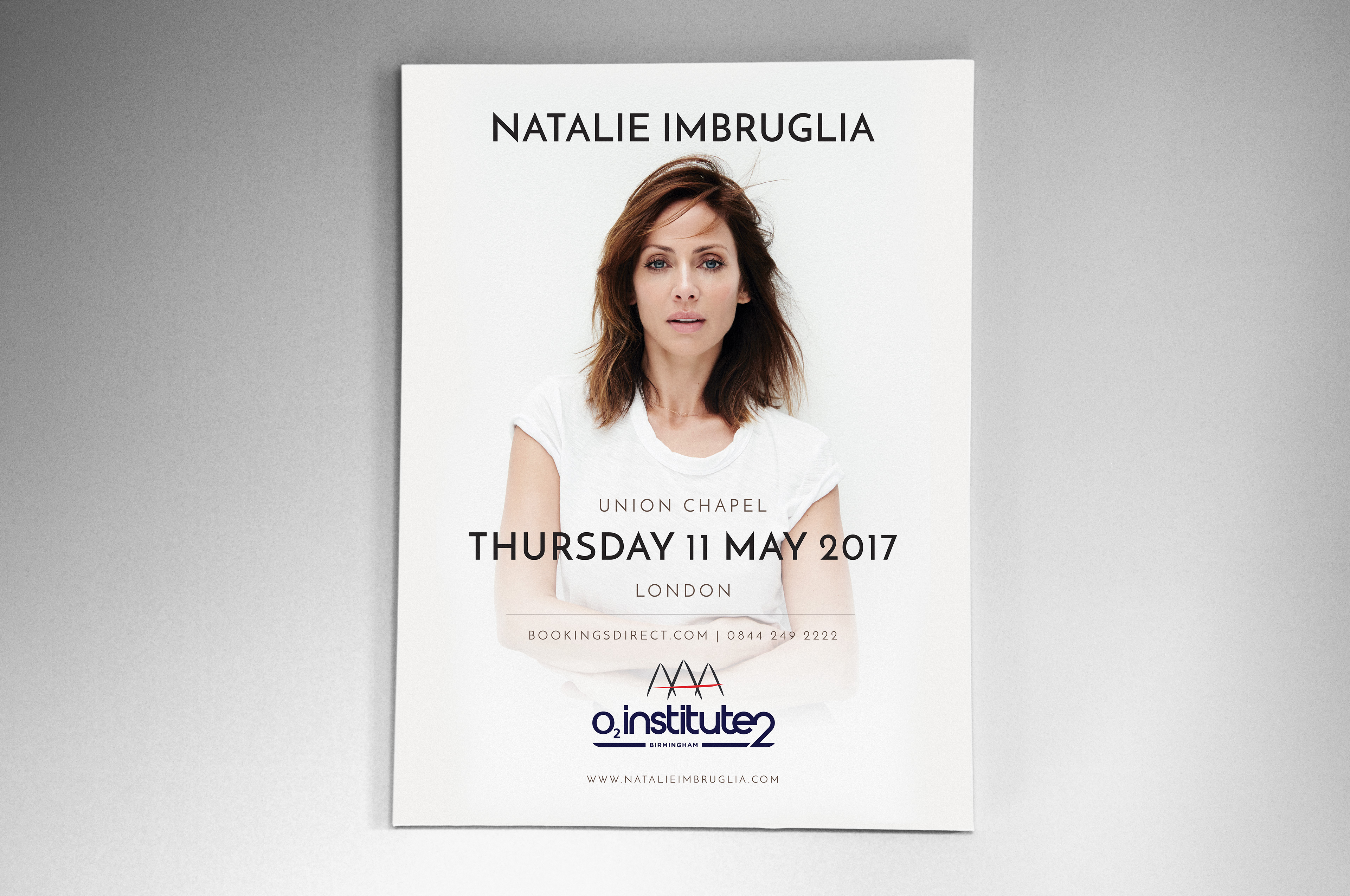 Visual Natives - Natalie Imbruglia Tour Poster